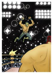 Lucha Attack by Andrew-Ross-MacLean