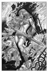 Red Sonja Vulture s Circle 1 by wgpencil