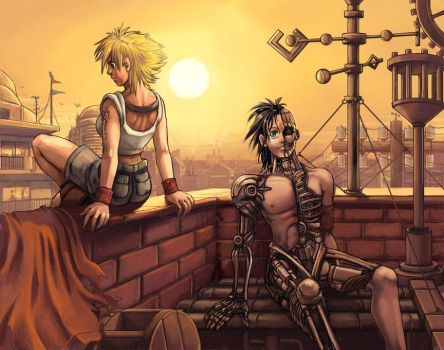 On the Roof -final- by Risachantag