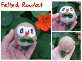Felted Rowlet