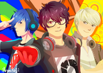 PERSONA PROTAG DANCING SQUAD by KatInATopHat