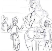Hannah's Comic Preview Image 2-10 Detailed Lines by Pettyexpo