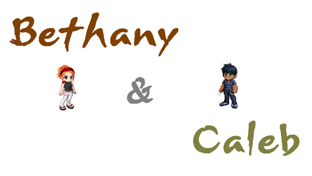 REVAMP: Bethany and Caleb by xJaTx