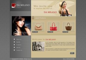 Leather goods site by WebRules