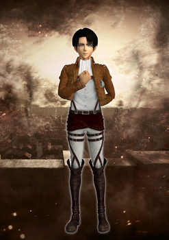 Levi Ackerman XPS download by Chaotixninjax