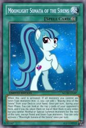 Moonlight Sonata of the Sirens (MLP):Yu-Gi-Oh Card by PopPixieRex