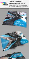 Creative Corporate Tri-Fold Brochure Vol 31 by jasonmendes