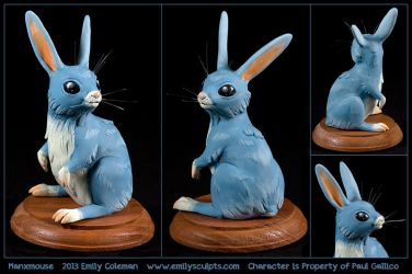 Commission : Manxmouse by emilySculpts
