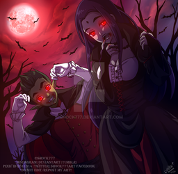 Under The Red Moon by shock777