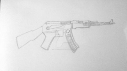 AK-47 Assault Rifle. by Damsellover50