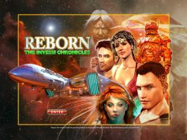 Splashpage for Reborn on-line RPG by digital-pat