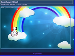 Journal Skin: Rainbow and Clouds by COMMANDER-C