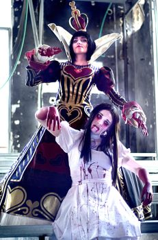 alice madness returns :: red queen of hearts :: by Moon-Pie-Panda