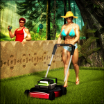 Lawn mowing Maia