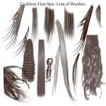 Hair Brushes adobe 7 by AutumnsGoddess-stox