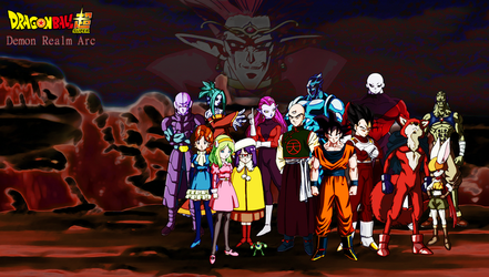 Demon Realm Arc (DBS) by DENDEROTTO
