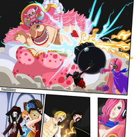 P. 17 - BigMom vs Luffy/Sanji (One Piece CH. 870) by FanaliShiro
