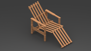 Wood Chair by Marsovski