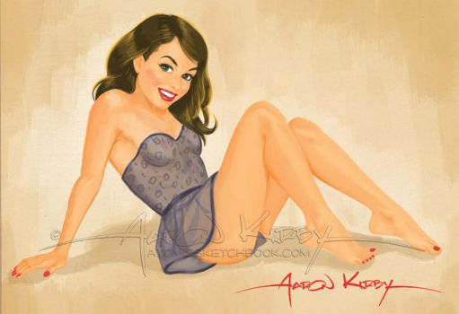 Jessica pin up by AtomicKirby