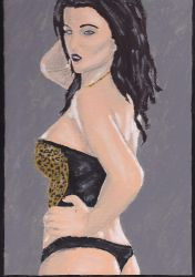 Emma Glover Painting 33 by jamesbaker1987