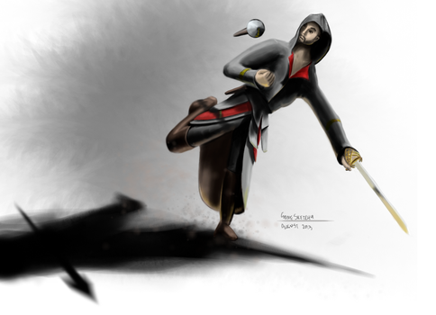 Unamed Assasin by gonesketchy