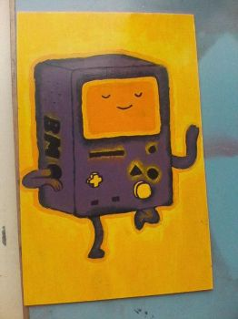 Beemo Painting .:COMPLETE:. by ThatCreativeCat