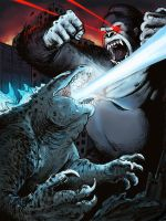 KONG VS GODZILLAAAA by ratt-face