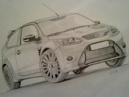 Ford Focus Rs 2011 by PIKEO