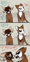 No Less Than Perfect (EVOLOONS) by CoffeeAddictedDragon