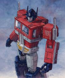 Optimus Prime by Trunnec