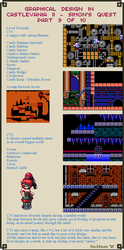 Graphical Design in Castlevania 2 - Part 9 of 10 by Cyangmou