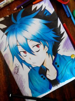 Kuro - Servamp. by Rawbravo