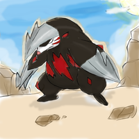 excadrill Drawing by roblee96
