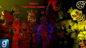 [DL] Five nights at AJ/pinkies 4 (updated) by MinerJacker