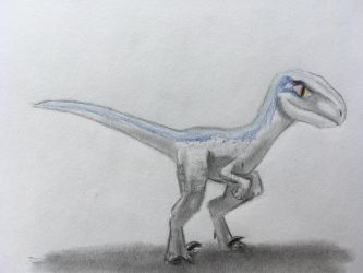 Baby Blue from Jurassic World by CaptainEdwardTeague