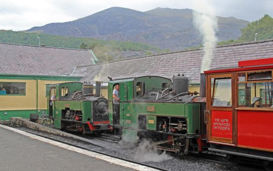 Not a double header at Llanberis! by Brit31