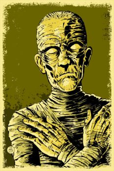 Mummy Poster by markwelser