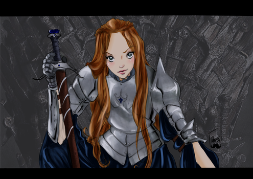 The only Stark that  i like by AlexielApril