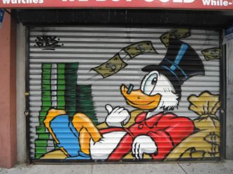Scroogie In Downtown Trenton by LordNegaduck