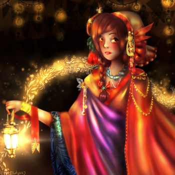 Folkloric Night by Elidyss