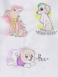 Famous dogs by miggea