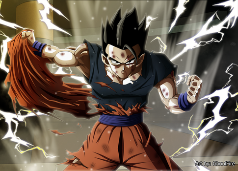 Gohan Definitivo by GhoulFire