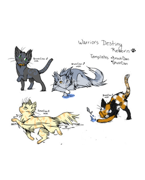 Warrior Adoptables. c: by Demintion