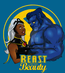 Beast and his Beauty by smthcrim89
