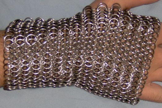 Chainmaille Bracer Back by SDragon029