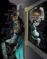 TrueFormMidna and Twilight Midna by Stnk13