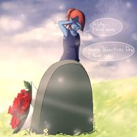 Glitchtale: Happy Valentines Day SPEEDPAINT by Sushi-Cat333