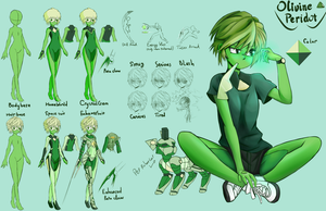 Olivine Peridot Refference Sheet by DoS-Draw