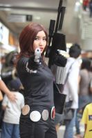 Black Widow: Guns by hoshikohikari