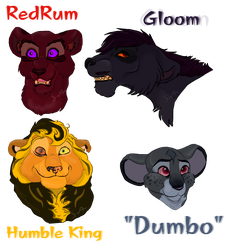 Lions and Lions! - OPEN by Sukida-Adopts